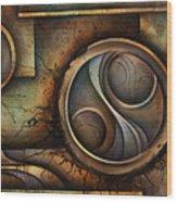 Abstract Design 13 Wood Print