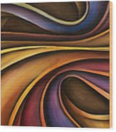 Abstract Design 15 Wood Print