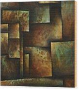 Abstract Design 16 Wood Print