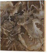 Abstract Design 2 Wood Print