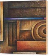 Abstract Design 30 Wood Print