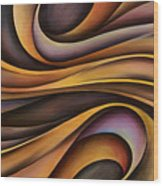 Abstract Design 31 Wood Print