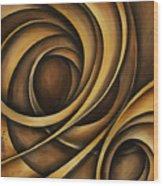 Abstract Design 32 Wood Print