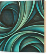 Abstract Design 33 Wood Print