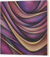 Abstract Design 35 Wood Print