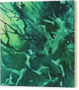 Abstract Design 37 Wood Print