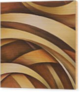 Abstract Design 39 Wood Print