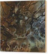 Abstract Design 52 Wood Print