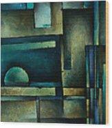 Abstract Design 56 Wood Print