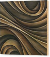 Abstract Design 7 Wood Print