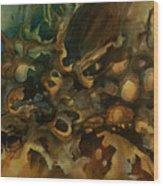 Abstract Design 90 Wood Print