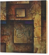 abstract design  B Wood Print