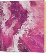 Abstract Division - 74 Wood Print