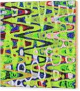 Abstract Dr #6 Wood Print