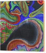 Abstract Dream Wood Print