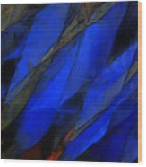 Abstract Eighty-eight Wood Print