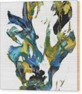 Abstract Expressionism Painting Series 716.102710 Wood Print