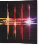 Abstract Five Wood Print