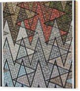 Abstract Floor  Wood Print
