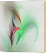 Abstract Fractal 052810  Wood Print