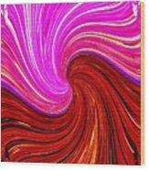 Abstract Fusion 266 Wood Print