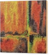 abstract I Wood Print