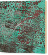 Abstract II Wood Print