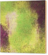 Abstract In Green And Brown Wood Print