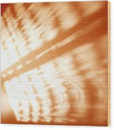 Abstract Light Rays Wood Print