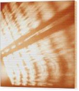 Abstract Light Rays Wood Print