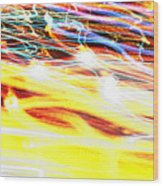 Abstract Light Wood Print