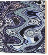 Abstract Marble Wood Print