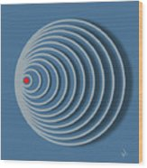 Abstract No 20 Wood Print
