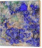 Abstract No 4 Wood Print