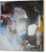 Abstract No 5 Wood Print