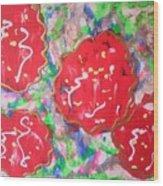 Abstract Nr 49 Wood Print