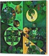 Abstract Painting - Camarone Wood Print