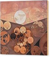 Abstract Painting - Paarl Wood Print