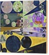 Abstract Painting - Tahuna Sands Wood Print