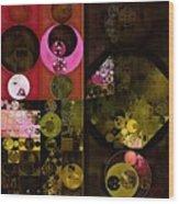 Abstract Painting - Tonys Pink Wood Print