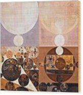 Abstract Painting - Zinnwaldite Wood Print