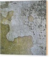 Abstract Pattern On The Wall Wood Print