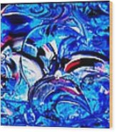 Abstract Perfection  12 Wood Print