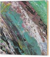 Abstract Piano 2 Wood Print