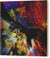 Abstract Pm Wood Print