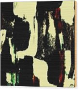 Abstract Quilt Wood Print