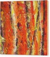 Abstract R-0176 Wood Print