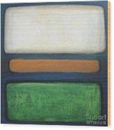 Abstract - Rothko Wood Print