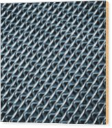 Abstract Rubber And Iron Mat Wood Print