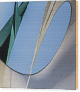 Abstract Sailcloth Ycc103 Wood Print